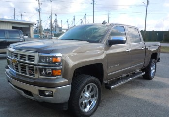 Chevy Silverado Line-X Bedliner for Repeat Quincy Client