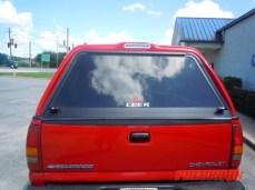 Silverado Truck Cap