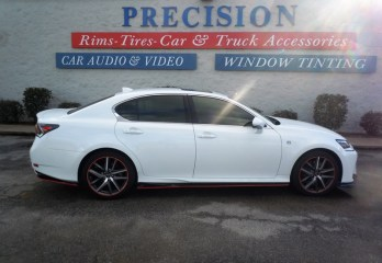 Lexus GS350 Sedan Llumar Window Tint