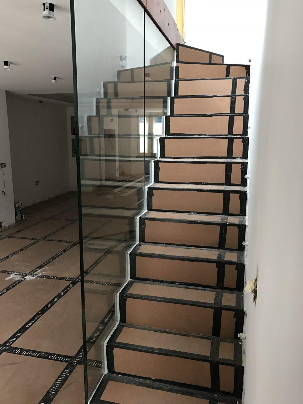 Full Height Frameless Glass Balustrade
