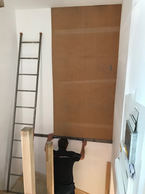 Templating for Large Mirror
