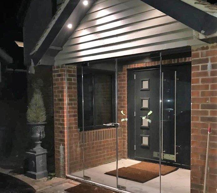 Glass Entrance Porch