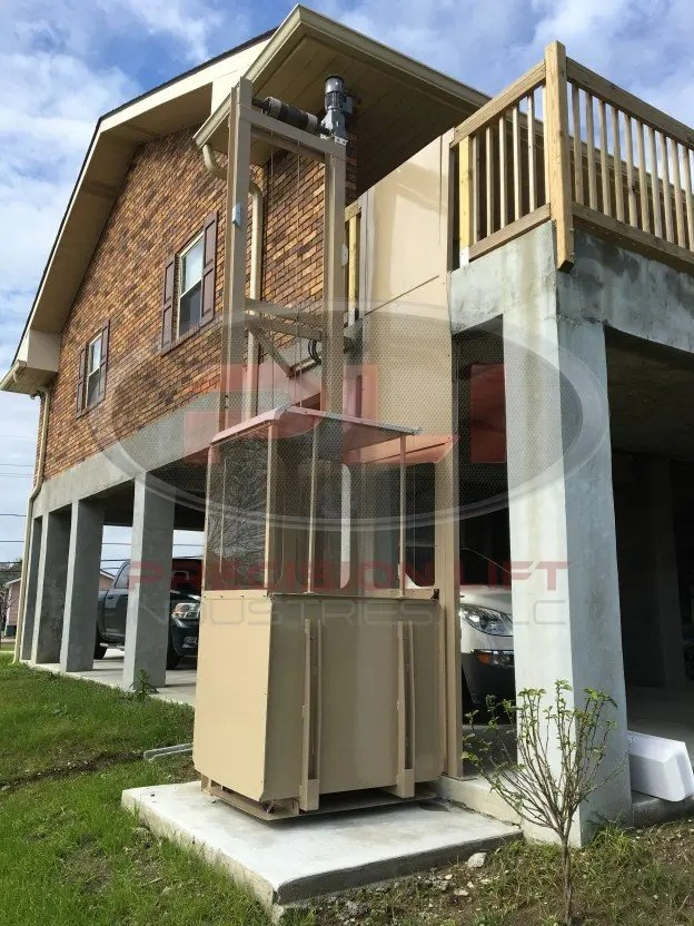 2016 precision lift industries for 2 story wheelchair lift
