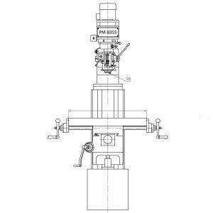 NEW! PM-835S Milling Machine
