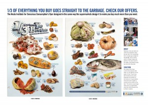 Food waste campaign flyer (click to enlarge)