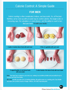 Pn calorie control men also forget counting try this guide for and rh precisionnutrition
