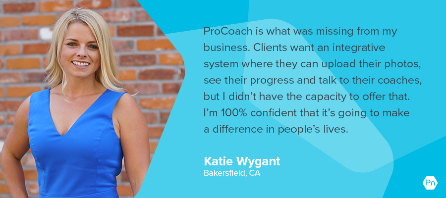 Katie Wygant - testimonial card