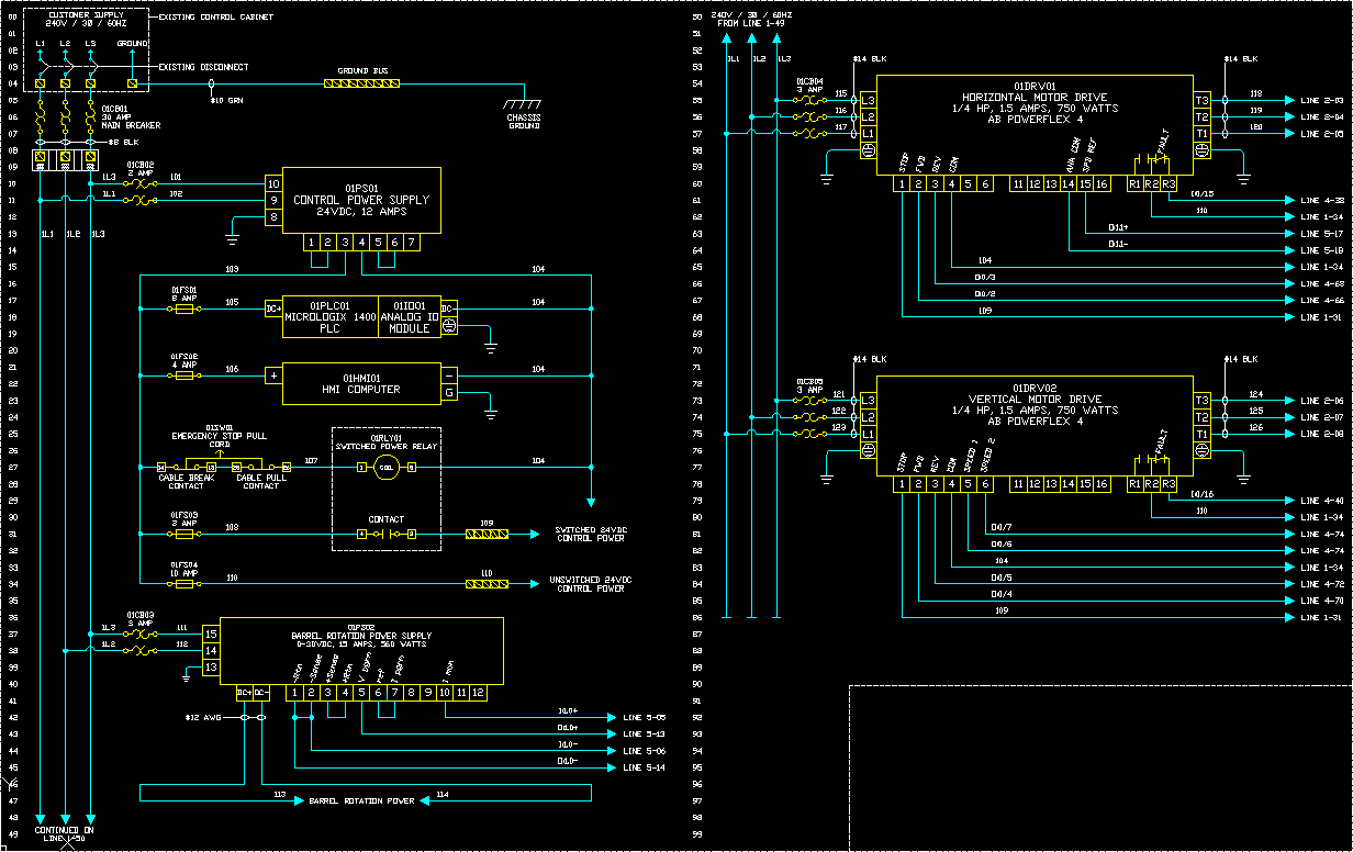 Wiring A Lighting Circuit Diagram Precision Process Equipment Gt Engineering Gt Electrical
