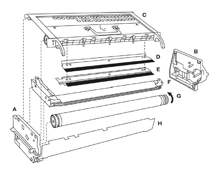 Konica Minolta DI1810 Konica Minolta DI1810 Imaging Unit