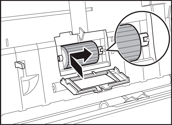 Canon DR-2050C imageFORMULA Scanner Canon DR-2050C Feed