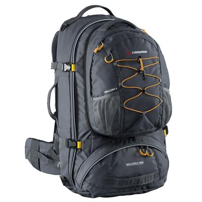 Modelo parecido com a minha mochila de 65 litros da Caribee, marca australiana