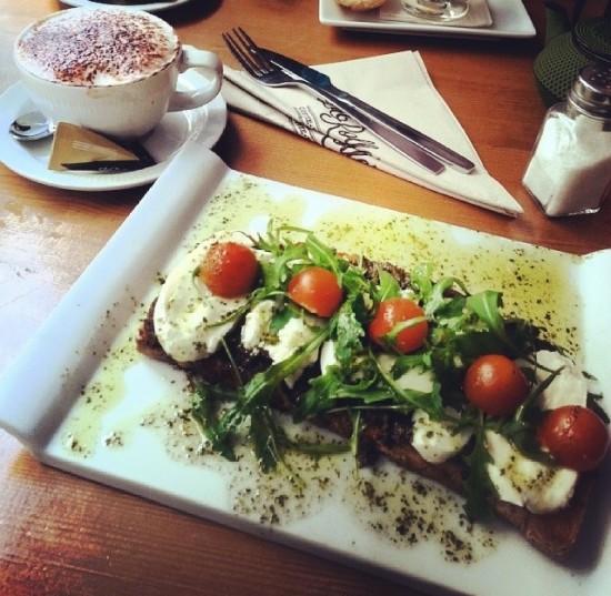 Esse foi um sanduíche que minha amiga Débora do blog Yourpassportplease pediu. Na faixa de 7 euros.