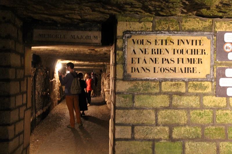 As Catacumbas de Paris
