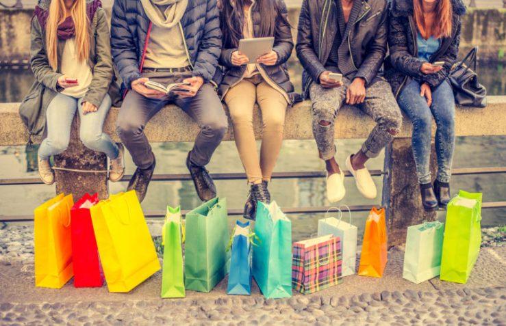 ruas para fazer compras em Paris