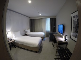 hotel no centro de melbourne