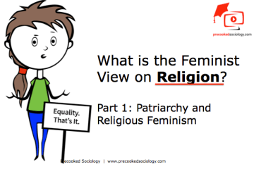 beliefs in society, feminist, view, religon