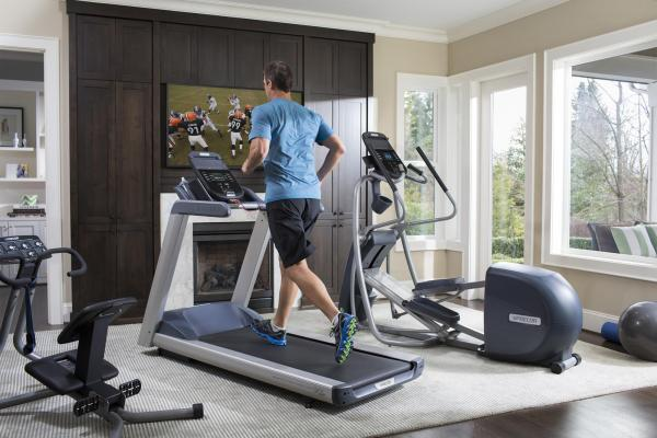 Home Workout Rooms with a Treadmill