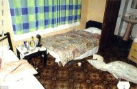Den of horror: A room in an Oxford guest house where underage victims of the gang were abused. Credit: dailymail.co.uk