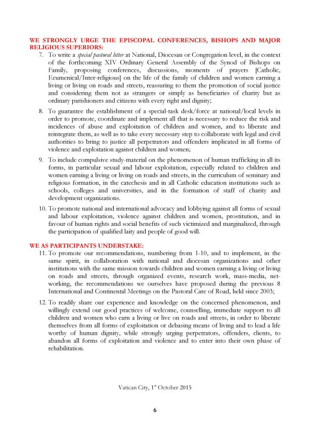 International Symposium on the Pastoral care of the Road-PLAN OF ACTION-EN-1.10.2015-1-page-006