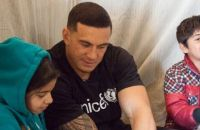 Sonny Bill Williams visited refugee camps in Lebanon earlier this month