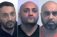 Arshid, Basharat and Bannaras Hussain were sentenced at Sheffield Crown Court