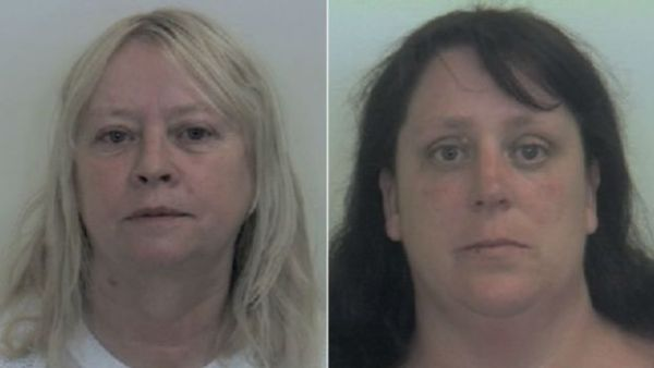Karen MacGregor and Shelley Davies were found guilty after the trial at Sheffield Crown Court