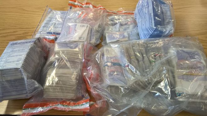 Police seized cash, jewellery and 'expensive cars' during the operation across south Bristol