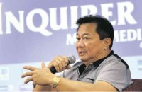 Incoming House Speaker Pantaleon Alvarez. RICHARD A. REYES/INQUIRER FILE PHOTO