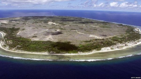 Nauru, the world's smallest republic, holds one of Australia's migrant camps