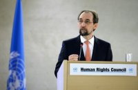 United Nations High Commissioner for Human Rights Zeid Ra'ad Al Hussein. AFP FILE PHOTO