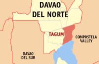 Tagum City, Davao del Norte (Wikipedia maps)