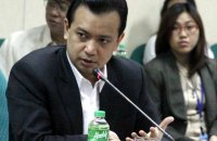 DUTERTE CRITIC. Senator Antonio Trillanes IV believes President Rodrigo Duterte will have less than majority public approval after his first year in office.