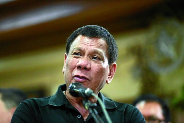 President Rodrigo Roa Duterte. INQUIRER PHOTO/JOAN BONDOC