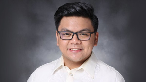 VICTIM. UST law student Horacio Castillo III. Photo from Castillo's Facebook profile