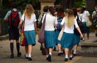 A report published a year ago by MPs revealed shocking levels of sexual abuse and harassment of schoolgirls who complained it was a daily part of life. Photograph: Dan Peled/AAP