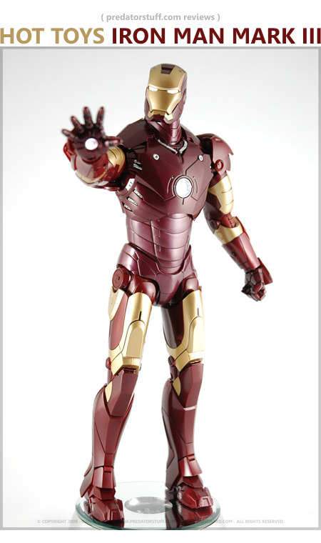Hot Toys Iron Man Mark III Figure
