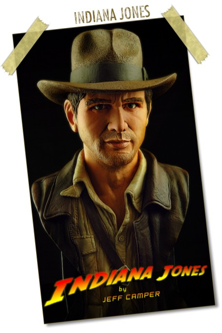 Indiana Jones by Jeff Camp