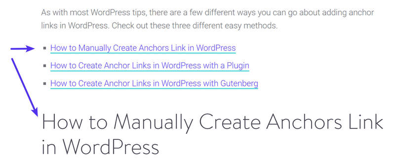 Encouraging good anchor text for inbound links