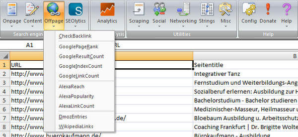 sorted with SeoTools for Excel