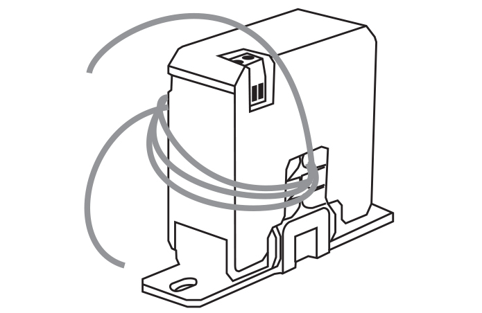 PDA6420 Split Core AC Current Transducer 30/60/120 AAC: 4