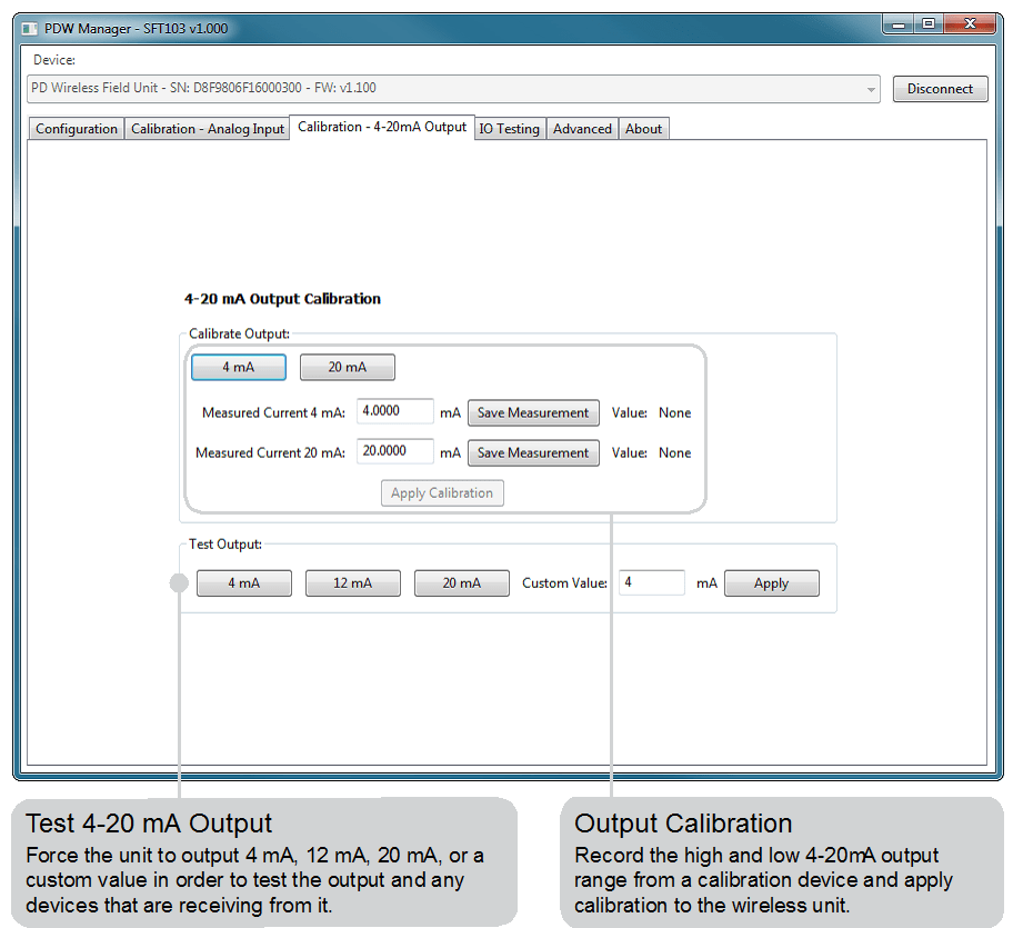 Click connect button