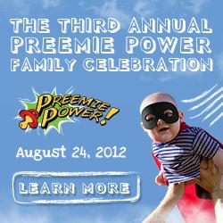 2012 Preemie Power Family Celebration - August 24, 2012