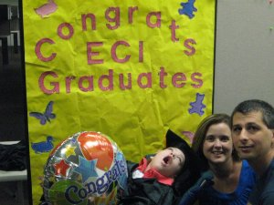 Casey's ECI Graduation