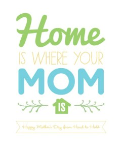 Home is Where Your Mom Is Printable