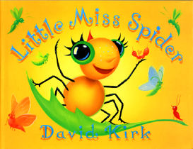 Little Miss Spider by David Kirk