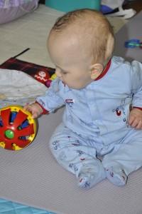 VP shunt infant floor play