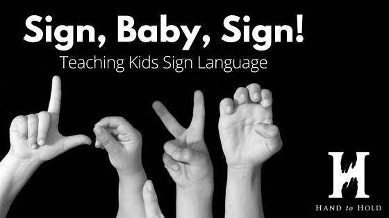 teaching kids sign language