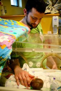 fathers day grief nicu prematurity hand to hold
