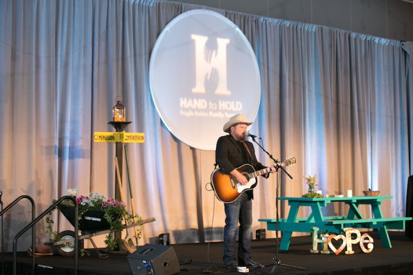 hand to hold baby shower luncheon 2017, randy rogers, community