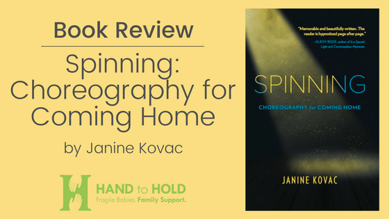 spinning, Janine kovac, hand to hold, book review